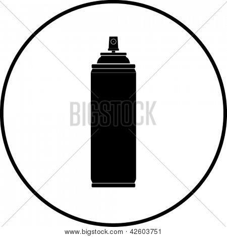 Spray can symbol