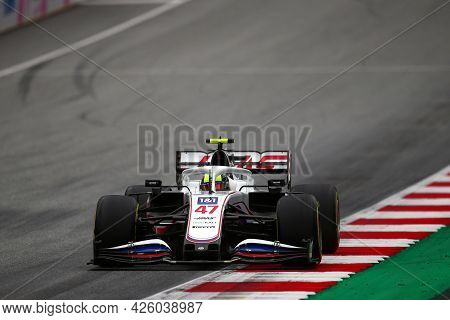 Spielberg, Austria. 2 July 2021.  Mick Schumacher Of Haas F1 Team   On Track During Free Practice Of