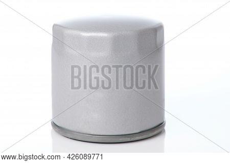 Metal Grey New Oil Filter