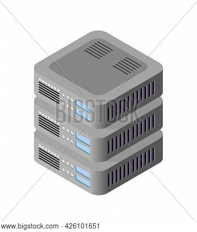Single Server Network Technology Of Connection Data Center