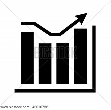 Chart Infographic Graph Diagram A Single Icon