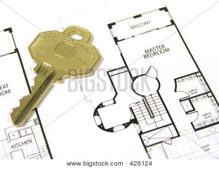 House Key And Plans