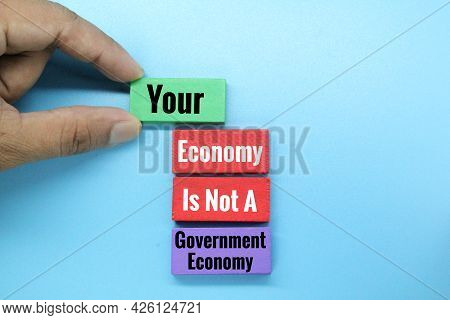 Your Economy Is Not A Government Economy