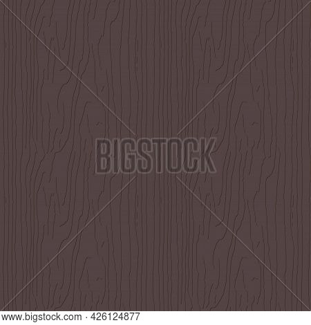 Brown Red Wooden Surface With Fibre And Grain Relief Effect. Natural Redwood Texture, Seamless Backg