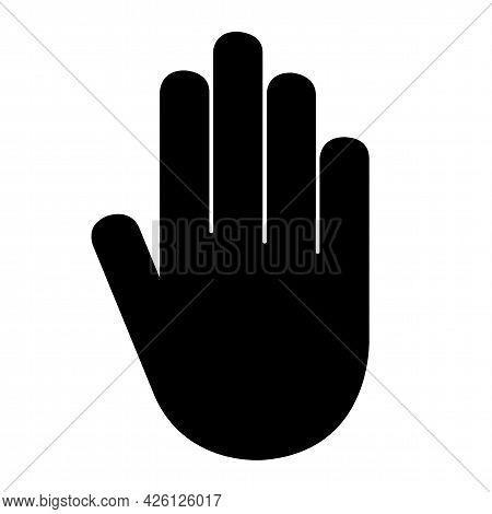 Do Not Entry Symbol Sign Isolate On White Background,vector Illustration