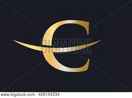 Initial Monogram Letter C Logo Design Vector. C Logo Design Vector Template