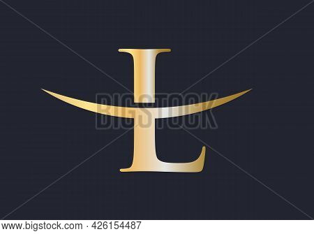 L Logo Design. Initial L Letter Logo Design Vector Template