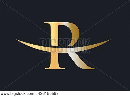 Initial Monogram Letter R Logo Design Vector. R Logo Design