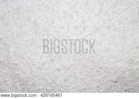 Citric Acid White Background.citric Acid Crystal Top View.