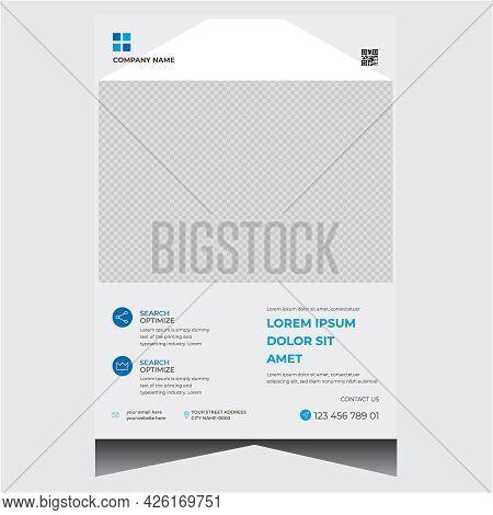 Creative White Corporate Business Flyer Design Template