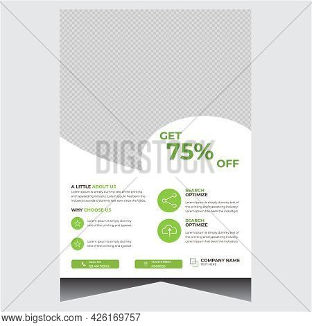 Promotional Corporate Company Business Flyer Design Template