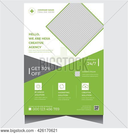 Company Corporate Business Agency Flyer Design Template