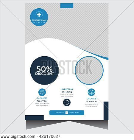 Corporate Promotional Business Agency Flyer Design Template