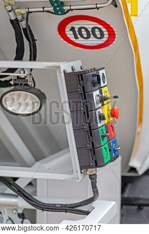 Garbage Truck Operation Heavy Duty Control Panel