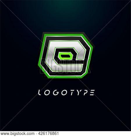 Letter Q For Video Game Logo And Super Hero Monogram. Sport Gaming Emblem, Bold Futuristic Letter Wi