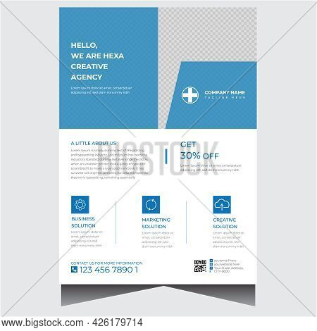 Promotional Creative Corporate Business Flyer Design Template