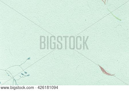 Blue mulberry paper textured background