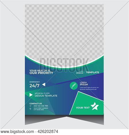Creative Promotional Health Medical Flyer Design Template