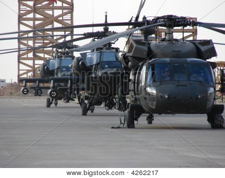 Helicopters On Standby