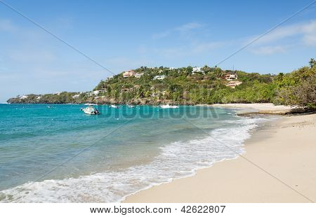 Hull Bay Beach Scene St Thomas Usvi