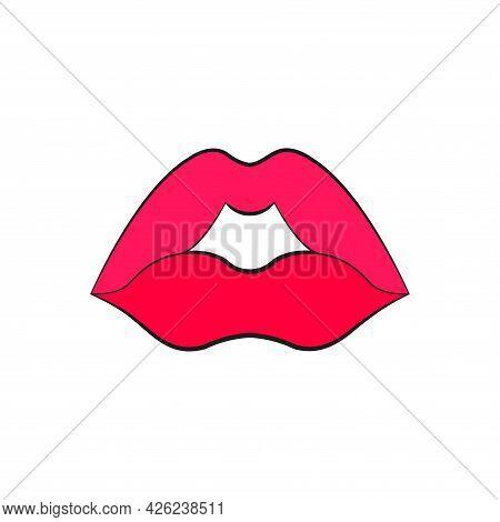 Womans Lip Gestures Set 2 Artb Dd Ww