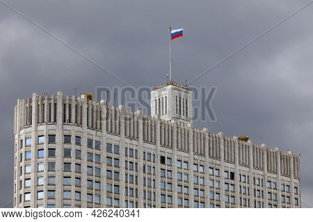 White House - The Building Of The Government Of The Russian Federation In Moscow.