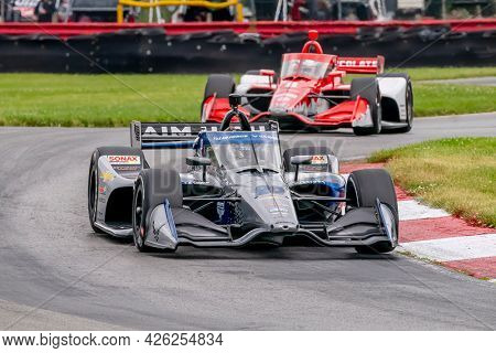 July 02, 2021 - Lexington, Ohio, USA: CONOR DALY (20) of The United States practices for the Honda Indy 200 at Mid-Ohio at Mid Ohio Sports Car Course in Lexington, Ohio.