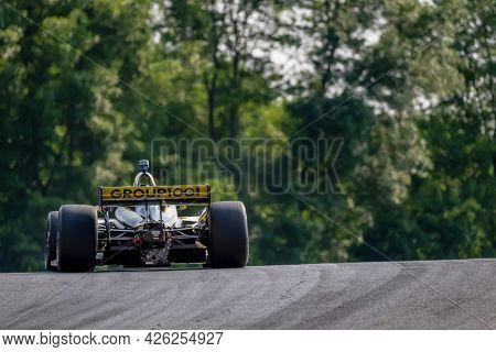 July 03, 2021 - Lexington, Ohio, USA: COLTON HERTA (26) of Valencia, Canada practices for the Honda Indy 200 at Mid-Ohio at Mid Ohio Sports Car Course in Lexington, Ohio.
