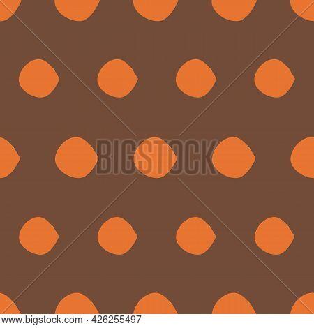 Crunchy Dots Vector Seamless Repeat Pattern Print