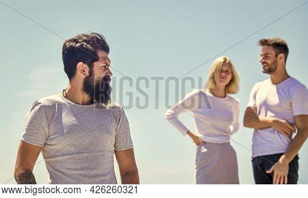 Family Psychology. Envy Them. Watching Them. Third Wheel Concept. Relationship Goals. Break Up. Love