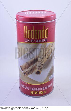 Manila, Ph - July 7 - Redondo Chocolate Flavoured Cream Wafers On July 7, 2021 In Manila, Philippine