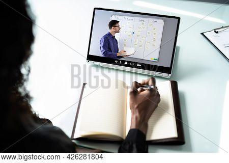 Online Virtual Video Conference Elearning Webinar Training