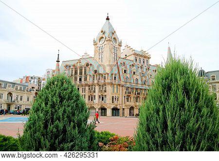 Stunning Historic Building On The Europe Square In Downtown Batumi, Adjara Region, Georgia, 25th Sep