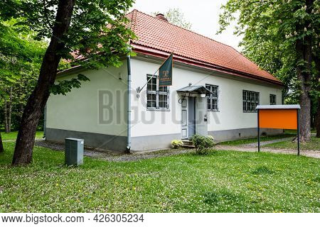 Tallinn, Estonia - May 26, 2019: House Of Peter I In Kadriorg Park In Tallinn, Estonia