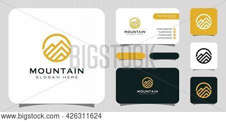 Mountain Logo Vector Design Template Design Logo