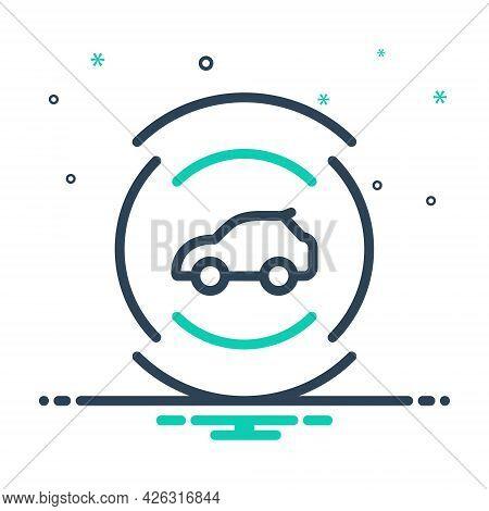 Mix Icon For Car-sensor Car Sensor Autonomous Transportation Technology Camera