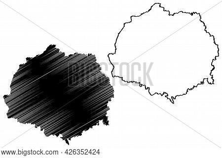 Erding District (federal Republic Of Germany, Rural District Upper Bavaria, Free State Of Bavaria) M
