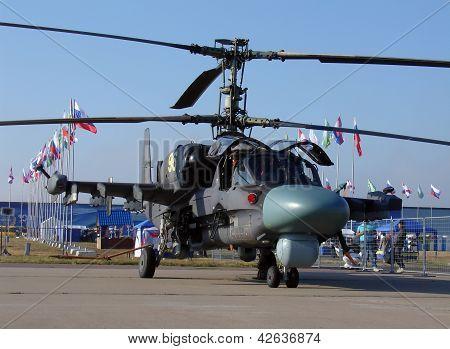 Helicopter Ka-52 Alligator