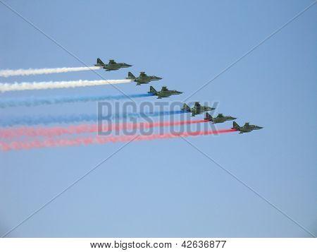 Su-25 Military Fighters
