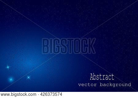Abstract Background In Blue Color.vector Abstract Blue Background For Design.