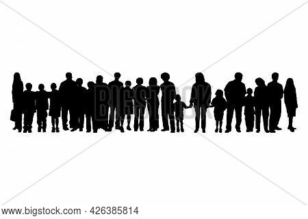 Business People Silhouette Set Of 21 Unique High-detailed Silhouettes Featuring Beautiful Models
