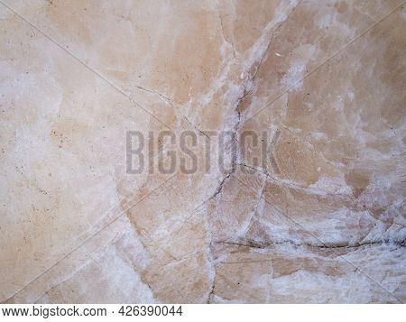Abstract Background, Creative Texture Of Marble And Gold Foil, Decorative Marbling, Artificial Fashi