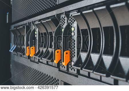 Computer Server Panel And Harddisk Raid Storage