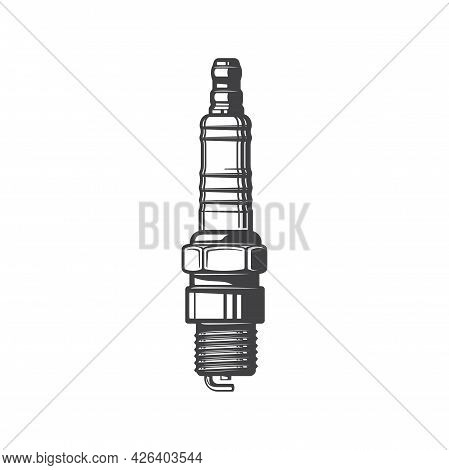 Sparkplug Automobile Or Motorcycle Spare Part, Vehicle Diagnostic Gear, Coil With Electrode Isolated