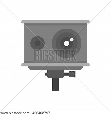 Action Camera Icon. Flat Illustration Of Action Camera Vector Icon Isolated On White Background