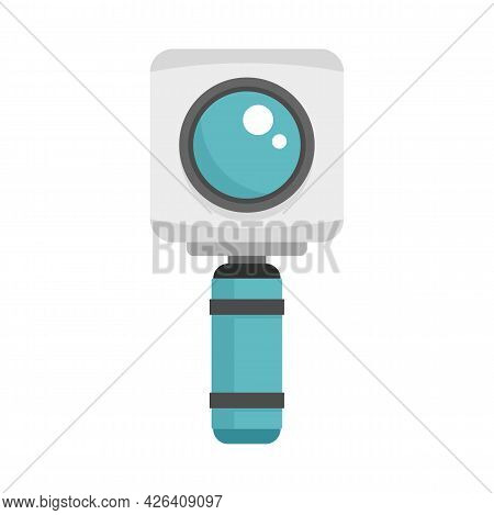 Underwater Action Camera Icon. Flat Illustration Of Underwater Action Camera Vector Icon Isolated On