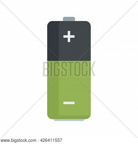 Used Battery Icon. Flat Illustration Of Used Battery Vector Icon Isolated On White Background