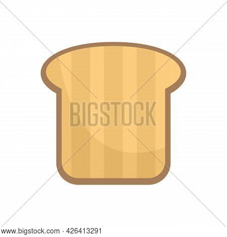 Nutrition Toast Icon. Flat Illustration Of Nutrition Toast Vector Icon Isolated On White Background