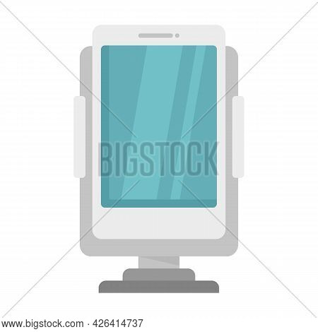 Phone Holder Accessories Icon. Flat Illustration Of Phone Holder Accessories Vector Icon Isolated On