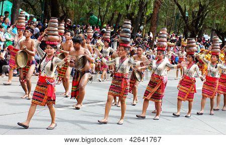 Panagbenga street dancing, Baguio City
